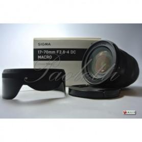 Sigma per Nikon 17-70 mm F 2.8-7 DC Macro