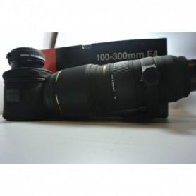 Sigma per Nikon EX 100-300 mm 1:4 APO DG AF  Apo Teleconverter 1.4 EX DG