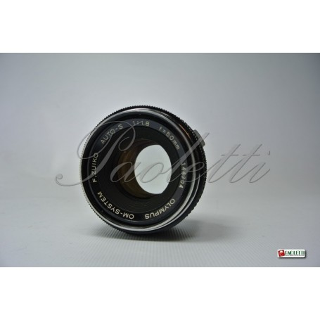 Olympus OM-System Zuiko  Auto-S 50mm 1:1.8