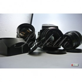 Zenza Bronica ETR  - Mag 135 - Mirino - Zenzanon MC 1:3.5 f  150 mm , Zenzanon MC 1:2.8 f  75 mm , Zenzanon MC 1:2.8 f  50 mm