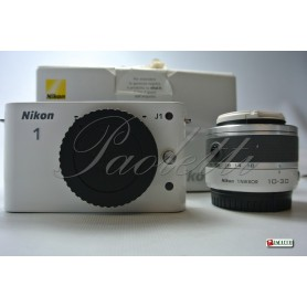 Nikon 1 J1 - 1Nikkor 10-30 mm 1:3.5-56 VR  ( White )