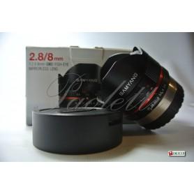 Samyang per Fuji 2.8/8mm UMC FISH-EYE