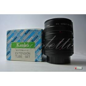 Kenko Extension tube set per Minolta MD  ( 12mm,20mm,36mm) Usato