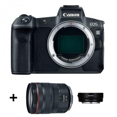 Canon Eos R Body + RF 24-105mm f/4L IS USM + EF-EOS R
