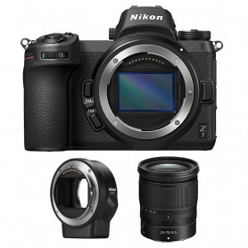 Nikon Z7 ( body) + NIKKOR Z 24-70 f/4 S + FTZ Mount Adapter