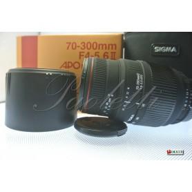 Sigma per Nikon 70-300mm 1:4-5.6 II APO Macro super Usato
