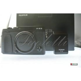 Fuji X-E3 (Black) Usata