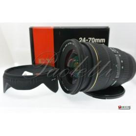 Sigma per Canon 24-70 mm 1:2.8  EX DG Usato