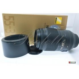 Nikon AF-S Nikkor 55-300 mm 1:4.5-5-6 G ED DX VR Usato