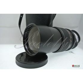 Mirage auto-reflex 200 mm 1:3.5 M42 Usato