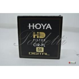 Hoya HD FILTER CIR-PL 58 mm DIGITAL Usato