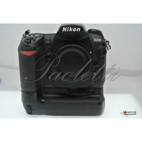 Nikon D200 + MB-D200 Usato