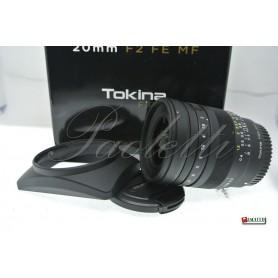 Tokina per Sony 20 mm F2 FE MF Usato