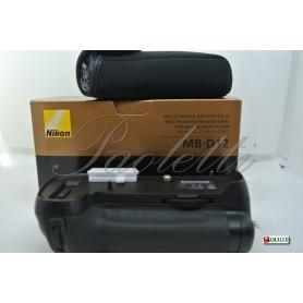 Nikon Multi-Power battery pack MB-D12 Nikon D800 D800E Usata
