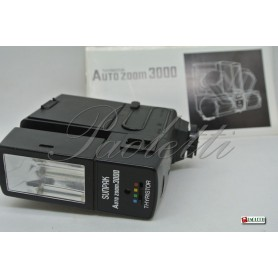 Sunpak Auto Zoom 3000 + AC Adaptor Type AD-05 Usato