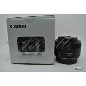 Canon EF 50 mm 1:1.8 STM Usato