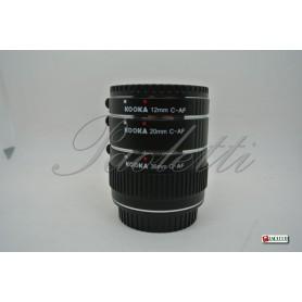 Kooka Tubi di prolunga per Canon (12mm-20mm-36mm) C-AF Usato