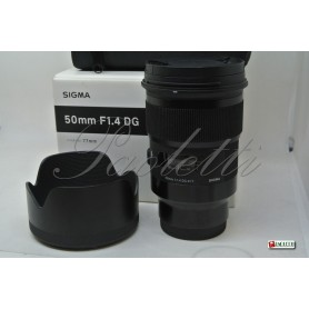 Sigma per Sony E -mount  50 mm F 1.4 DG (Art) Usato