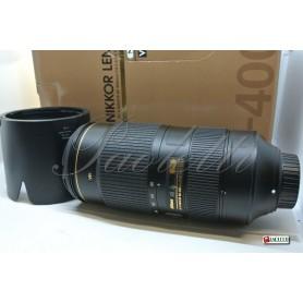 Nikon AF-S Nikkor 80-400 mm 1:4.5-5.6 G ED VR N Usato