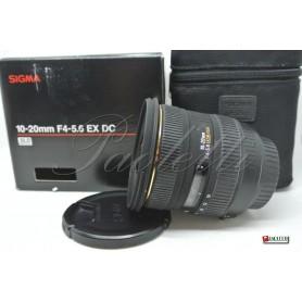 Sigma per  Canon 10-20 mm 1:4-5.6 EX  DC HSM Usato