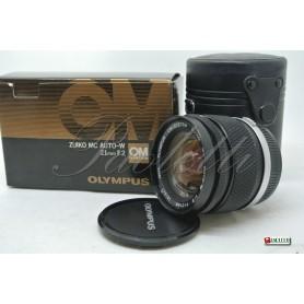 Olympus Om-System Zuiko MC  Auto-W 1:2 21 mm Usato